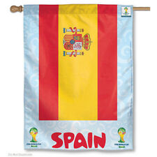 World Soccer Spain National Team FIFA World Cup House Flag