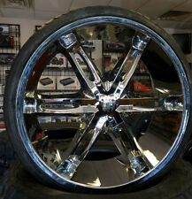 """Brand New 24"""" Milanni Wheels and Tires for Charger Magnum 300c Challenger"""