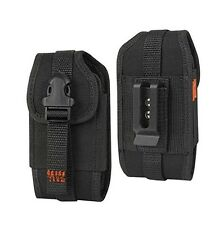 Canvas Rugged Side Case Pouch for Cell Phones (Fits w Otterbox Defender Case on