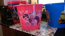 Kids bucket pail beach toys gifts My Little Pony, Minions, Avengers, McStuffins