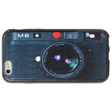 NEW Camera Printed Case for Apple iPhone Hard Plastic Back TPU sides Cover