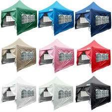 Quictent 8'x 8' Waterproof EZ Pop Up Canopy Party Tent Gazebo 7 Colors Available