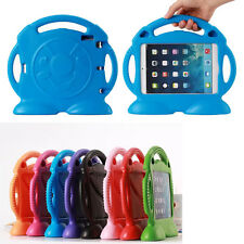 Child Safety Grip Carry Rubber Shockproof  Heavy Duty Case Cover Stand For iPad