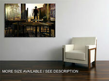 Canvas Print Picture Wild West Saloon Graphics / Gallery wrapped ready to hang