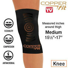 Copper Fit Copper Infused Knee Compression Sleeve As Seen on TV Joint Brace Pain