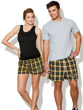 UCF Boxer Shorts Plaid Boxers for Men Ladies GREAT AS SLEEP SHORTS Him or Her