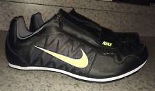 NEW Mens NIKE Zoom LJ 4 Long Jump Pole Vault Track Field Shoes Black Volt Sil 15