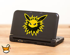 Jolteon Pokemon decal sticker for Nintendo Switch, 3DS XL, iPad, iPhone MA268