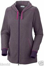 "NEW WOMEN'S COLUMBIA ""Heather Honey"" III FULL ZIP OMNI-WICK HOODIE SWEATERS NWT."