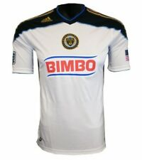 NEW Mens M ADIDAS MLS Philadelphia Union Authentic Third White S/S Soccer Jersey