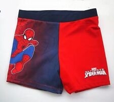 Boys Ultimate Spiderman SWIM Shorts Bathers Swimsuit Swimmers  Trunks Togs Szs