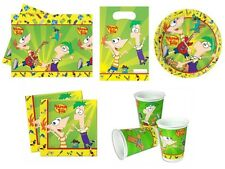 Phineas And Ferb Birthday Party Supplies - Tableware & Decorations - Select Item