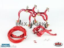 Dia-Compe Red MX890 with MX121 (Tech 3) Levers Package Old School BMX Mongoose