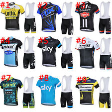 Cycling Bike Short Sleeve Top Shirt Bicycle Bib Sports Jersey Shorts Set Outdoor