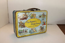 Roy Rogers And Dale Evans - Blue Band  -  vintage metal Lunchbox