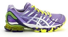 Womens ASICS GEL KINSEI 4 running training shoes Lavender White Yellow MSRP $190