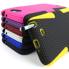 For Samsung Galaxy Note II 2 Colorful APEX Hybrid Gel Silicone & Hard Case Cover
