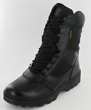 Mens 4106 lightweight black waterproof leather boots Retail price £35.00