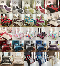 Duvet Cover Set With 2 Pillow Cases Bedding Quilt Cover Set All Sizes New Style