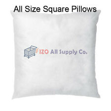 New Square Euro Pillow Insert Form - ALL SIZES!! Made in USA