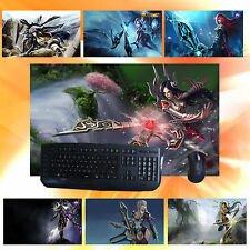 LOL Will of the Blades Irelia Keyboard Mouse Pad Play Mat For League of Legends