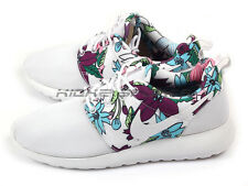 Nike Wmns Roshe One Print White/Bold Berry Aloha Floral Fashion 2015 599432-113