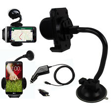 Universal Mobile Phone In Car Windscreen Holder FREE Micro USB In Car Charger