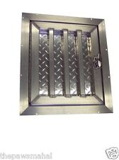 Tall Aluminum Dog Box Crate Kennel Door