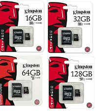 LOT Kingston 2GB 4GB 8GB 16GB 32GB microSD microSDHC C4 micro SD SDHC Wholesale
