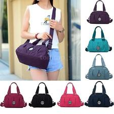 Women Handbag Leisure Nylon Shoulder Zipper Messenger Crossbody Bag Girl Tote