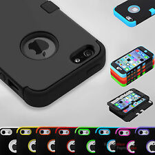 "Hybrid Shockproof Hard Tuff Rugged Rubber Cover Case For Apple iPhone 6 4.7"" 5.5"