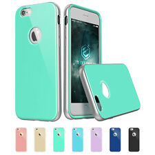 Defender Series Hybrid metal Case with Soft TPU Back cover for iPhone 6