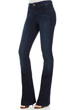 NEW Mavi Womens Flared Jeans Sheena High Rise Flare Midnight