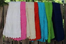 "Mexican ""Pico"" Skirt Grp #2 100% Cotton Falda - Frida Style Hippie Boho Cowgirl"