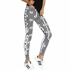 Adidas Originals Mexkumrex Firebird Trefoil Leggings S19338 Ivory/Black New