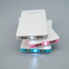 New 10000 mAh Portable Mobile Power Bank Dual USB Battery Charger For Cell Phone
