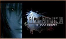 Final Fantasy XV 15 Episode Duscae Demo Bonus Download Code PS4 PlayStation 4