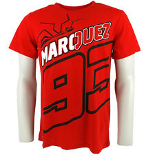 Marc Marquez 93 Black The Ant Moto GP T-shirt Red Official New