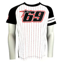 Nicky Hayden 69 Moto GP USA Stripe T-shirt Official 2015