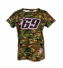 Nicky Hayden 69 Moto GP Camouflage Womens T-Shirt Official 2015
