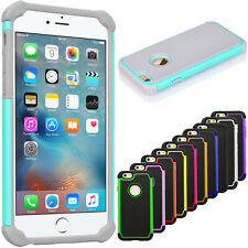 Hybrid Rugged Matte Shockproof Hard Case Cover For iPhone 6/6S & 6/6S Plus 2015