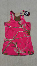 Realtree Womens Hot Pink Camo Camouflage Tank Halter Top Shirt S M L XL 2015 NEW