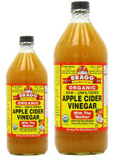 Bragg ORGANIC RAW APPLE CIDER VINEGAR - Choose Either 473ml or 946ml