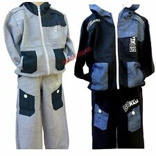 Kids New Season Childrens Boys GR RAW Jogging Suits Age 2-14 Years