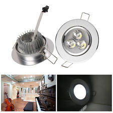 3W/5W LED Ceiling Down Light Cabinet Recessed Fixture Spot Lamp Kits+LED Driver