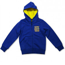 Valentino Rossi VR46 The Doctor Moto GP Kids Hoodie Blue Official New