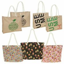 Shopping Bag Tote Shopper Beach Large Medium Small Reusable Eco Friendly