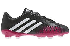 NEW Youth 4.5 ADIDAS Predator Absolado LZ TRX FG Black Pink Soccer Cleats Boots