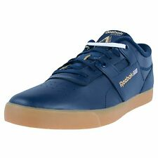 REEBOK X PALACE SKATEBOARDS WORKOUT LOW CLEANS FVS SNEAKERS NAVY WHITE M41597