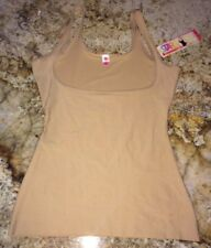 NEW Womens STAR POWER SPANX Award Thinners Medium Control Nude Open Bust Tank XL